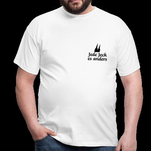 Jede Jeck es anders (Klassik) S-3XL Köln T-Shirt - Männer T-Shirt