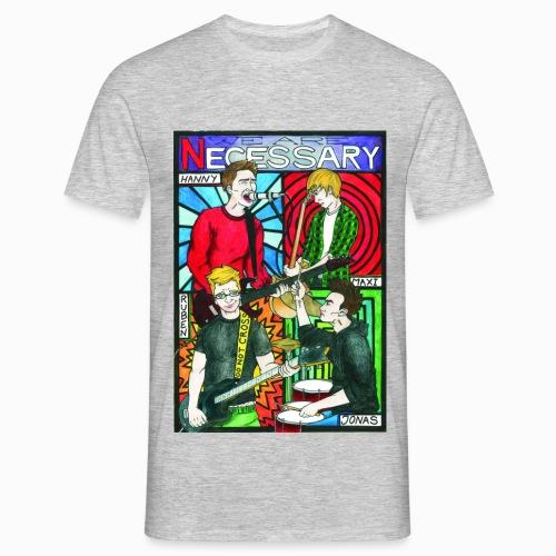 Necessary - Comic - Männer T-Shirt
