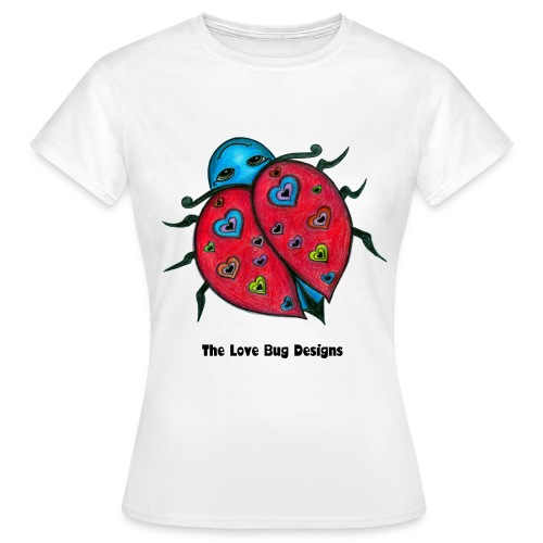 The Love Bug Designs Tee - Ladies - Women's T-Shirt
