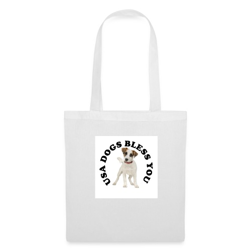 Tote Bag USA Dogs Bless You - Tote Bag