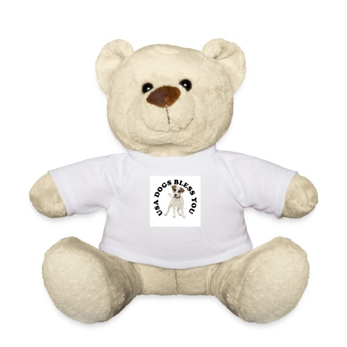 Nounours USA Dogs Bless You - Teddy Bear