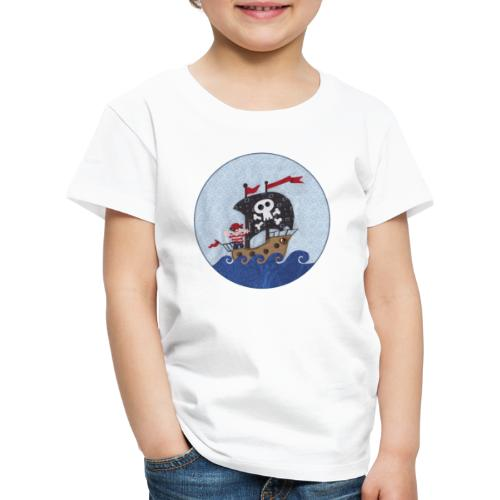 Kinder T-Shirt mit Pirat - Kinder Premium T-Shirt