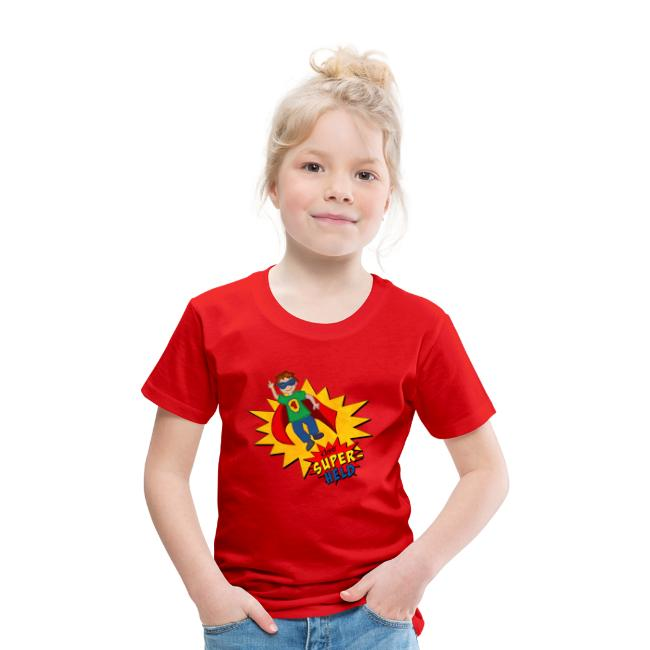 Kinder T-Shirt mit Superheld