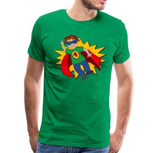 Männer T-Shirt mit Superhelden - Männer Premium T-Shirt