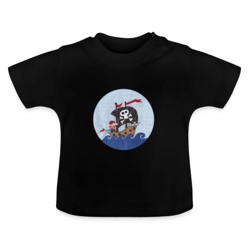 Baby-T-Shirt mit Pirat - Baby T-Shirt