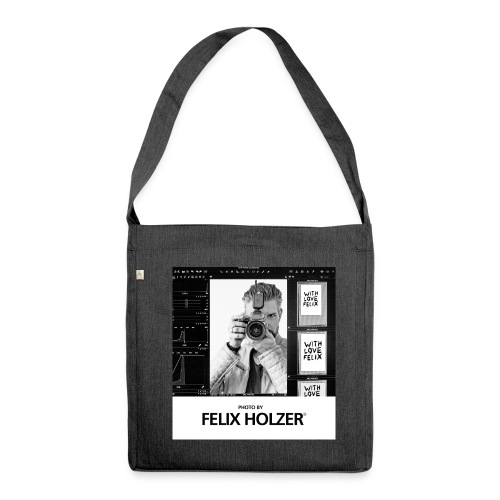 PHOTO BY FELIX HOLZER® - Special Edition Bag  - Shoulder Bag made from recycled material