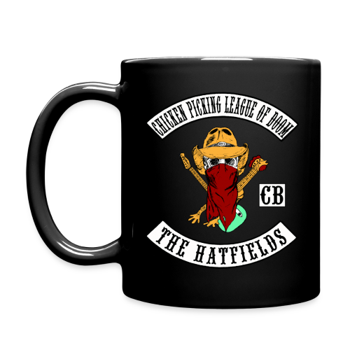 Chicken Picking League of Doom - The Hatfields Country Band Mug - Tasse einfarbig
