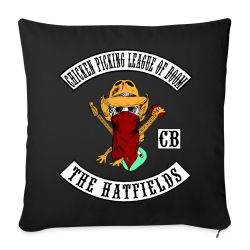 Chicken Picking League of Doom - The Hatfields Country Band Pillow - Sofakissenbezug 44 x 44 cm