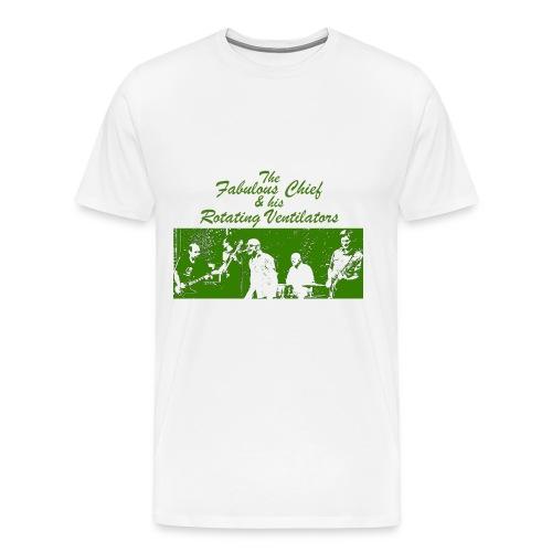 Kärwakonzertshirt - Grün weiß - Männer Premium T-Shirt