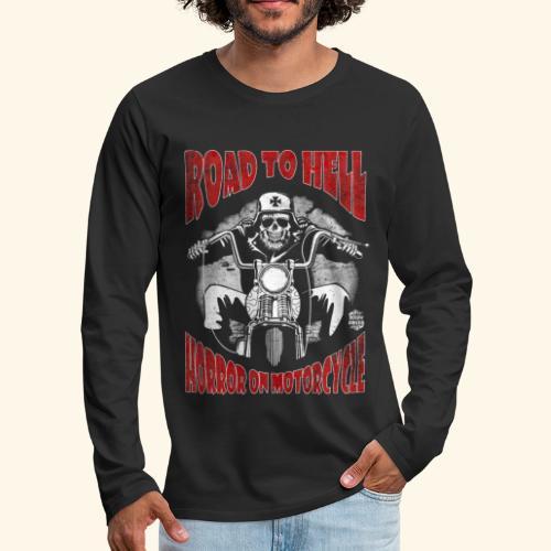 Road to Hell manga larga - Camiseta de manga larga premium hombre