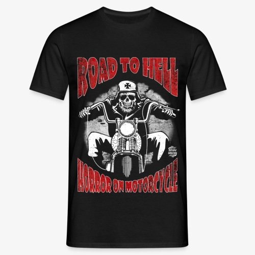 Road to Hell manga corta - Camiseta hombre