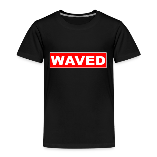 Unisex Kids Waved Box Logo tee - Kids' Premium T-Shirt