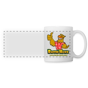 Banter Hawk Logo Mug - Panoramic Mug