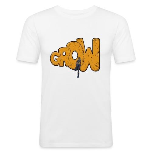 Men's Penificent's Grow Slim Fit T-Shirt - Men's Slim Fit T-Shirt