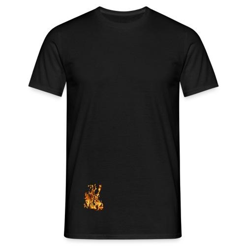Feuer T-Shirt  - Männer T-Shirt
