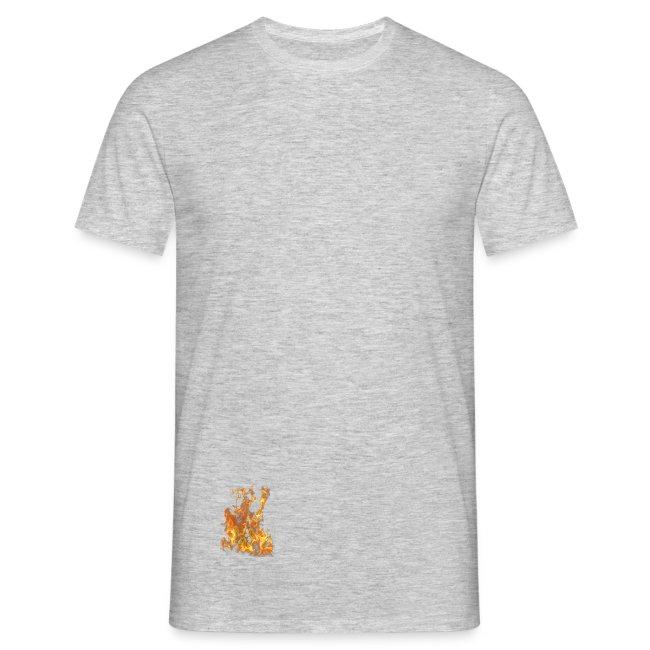 promo code fb6b8 46be4 Feuer T-Shirt | Männer T-Shirt