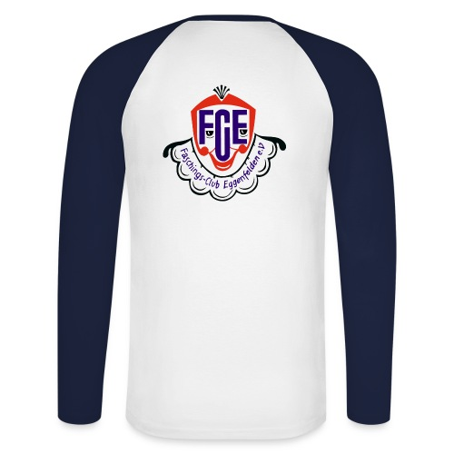 Langarmshirt Logo hinten - Männer Baseballshirt langarm