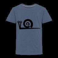 T-Shirts ~ Kinder Premium T-Shirt ~ Schnecke Spirale