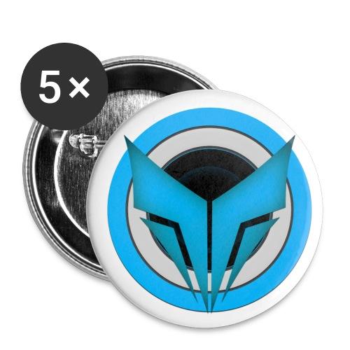 Pins com Logo - Buttons medium 32 mm