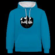 Pullover & Hoodies ~ Kontrast-Kapuzenpullover ~ PV 2-Color Hoodie