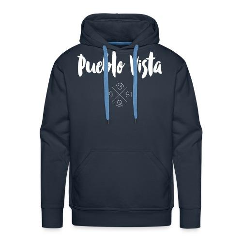 Hoodie // Pueblo Vista // Logo 19X81 - Männer Premium Hoodie
