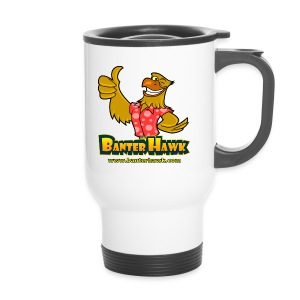 Banter Hawk Logo Carry Cup - Travel Mug