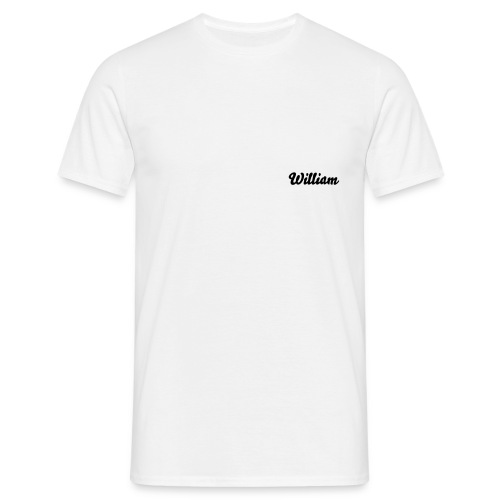 william - T-shirt Homme