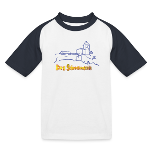 Baseball-Shirt Kinder Burg - Kinder Baseball T-Shirt