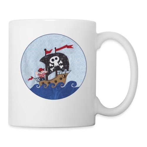 Kaffeebecher mit Pirat - Tasse