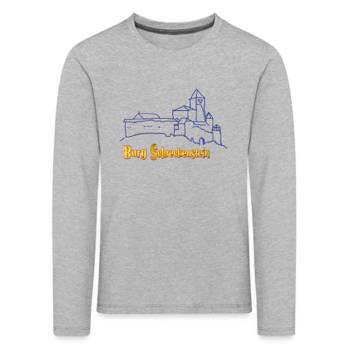 Kinder Langarm-Shirt Burg  - Kinder Premium Langarmshirt