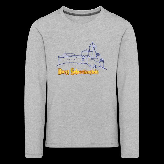 Kinder Langarm-Shirt Burg