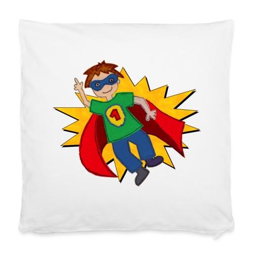 Kissenbezug mit Superheld   - Kissenbezug 40 x 40 cm