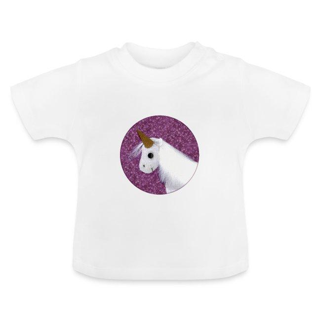Baby T-Shirt mit Einhorn
