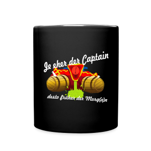 Party Captain - Tasse - Tasse einfarbig