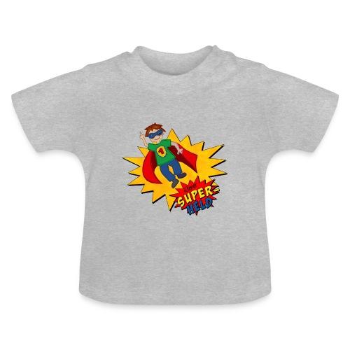 Baby T-Shirt mit Superheld - Baby T-Shirt