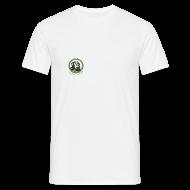T-Shirts ~ Männer T-Shirt ~ T-Shirt Chimfunshi Logo grün