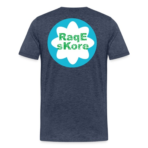 RaqEsKore Premium T-Shirt Grau - Männer Premium T-Shirt