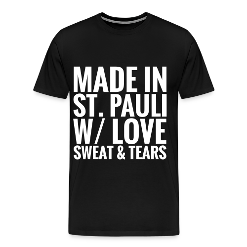 Mens T-Shirt MADE IN ST.PAULI dark - Men's Premium T-Shirt