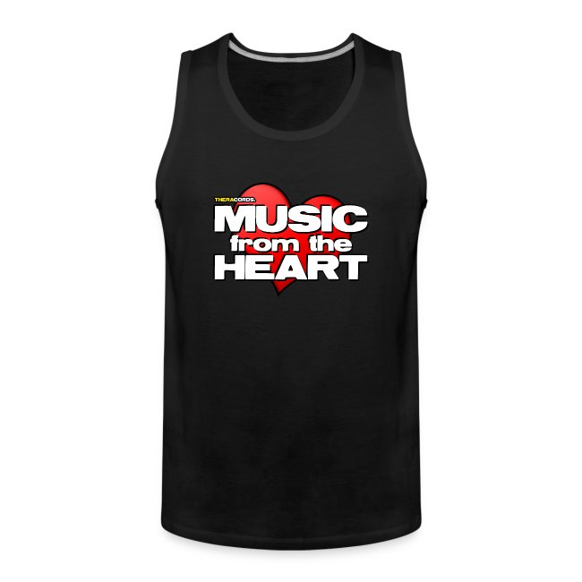 Tanktop Music from the Heart