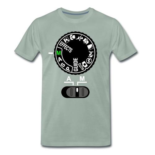 Manuell statt Automatik - Männer Premium T-Shirt
