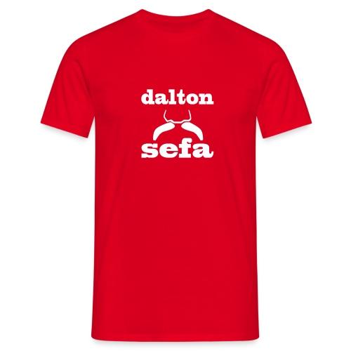 Dalton Sefa shirt - Rood - Mannen T-shirt