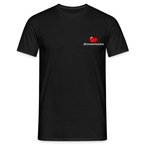 Zongedroogd - Zwart - Mannen T-shirt