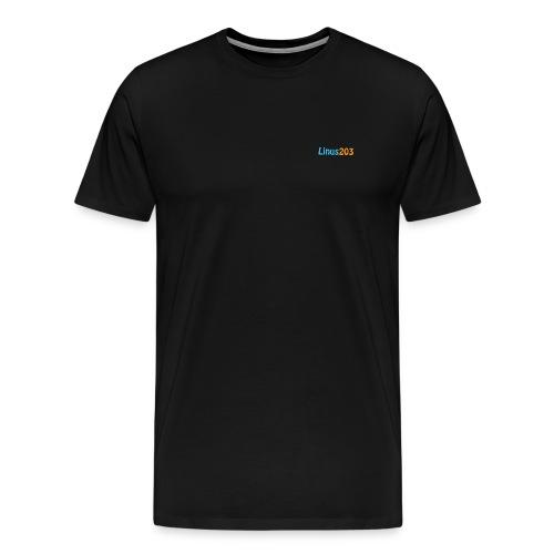 Linus203 T-Shirt (Fram & Bak) OBS Lite där framme! - Premium-T-shirt herr