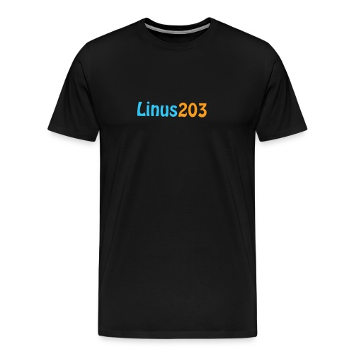 Linus T-Shirt Herr (Bak och Fram) - Premium-T-shirt herr