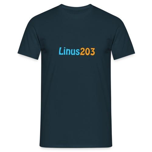 Linus203 T-shirt (Bak och Fram) - T-shirt herr