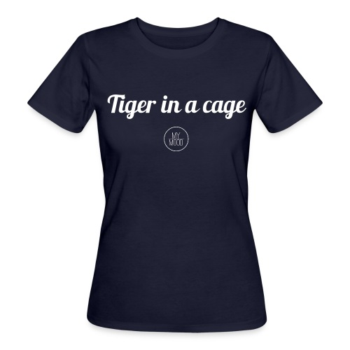 Tiger in a cage - T-shirt bio Femme