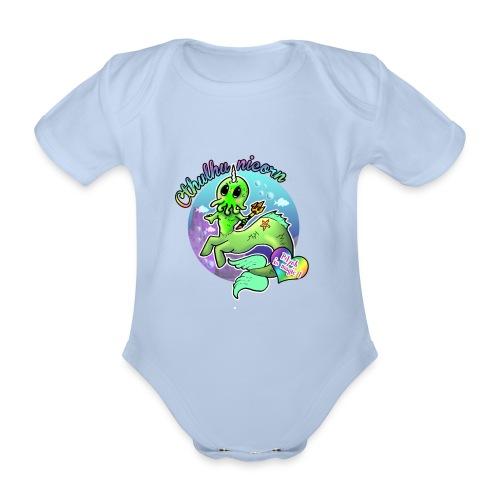 T-shirt Cthulhunicorn - Body bébé bio manches courtes