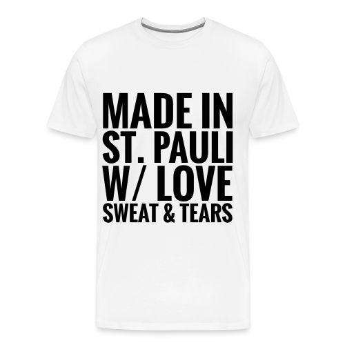 Mens T-Shirt MADE IN ST.PAULI bright - Men's Premium T-Shirt