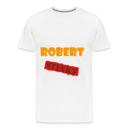 Robert stinkt Shirt - Männer Premium T-Shirt