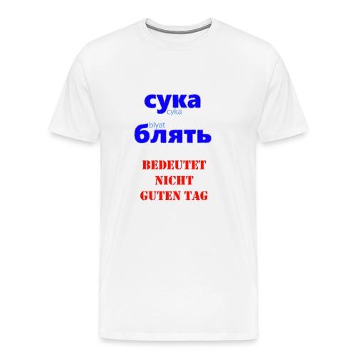 Cyka Blyat Shirt - Männer Premium T-Shirt